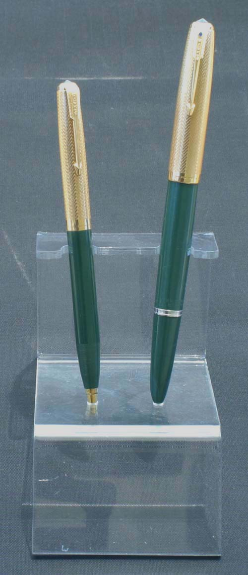 ACRYLIC PEN STAND THAT WILL SHOW-OFF 2 PENS (OR A SET).