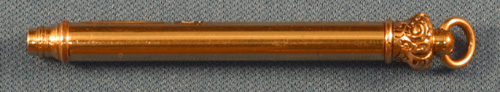 COLLAPSIBLE VICTORIAN GOLD FILLED PENCIL