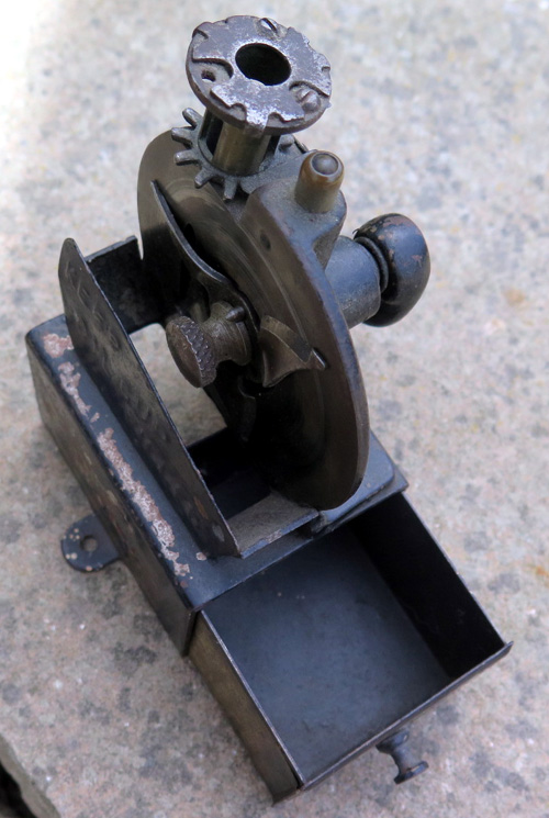 VERY EARLY US BRAND PENCIL SHARPENER