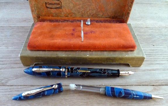 blue marble sheaffer balance