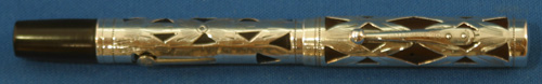 WATERMAN'S 452 STERLING FILIGREE FOUNTAIN PEN