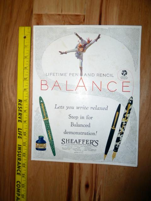 SHEAFFER BALANCE ICE SKATER