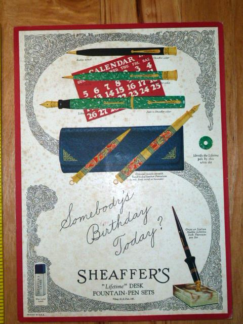 HAND PAINTED SHEAFFER PENS