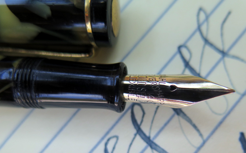 FLEXIBLE NIB EVERSHARP ROLLER CLIP GOLD SEAL FLEXIBLE!!!