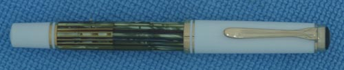 PELIKAN SOUVERAN 400 WHITE TORTOISE SHELL FOUNTAIN PEN