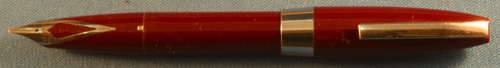 SHEAFFER PFM I, MAROON, BROAD NIB