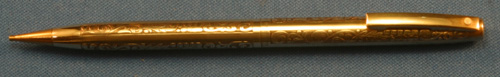"SHEAFFER ""VINTAGE"" PATTERN PENCIL"