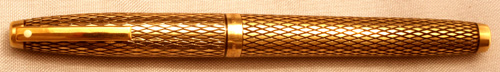 SHEAFFER GOLD FILLED IMPERIAL SOVEREIGN FOUNTAIN PEN