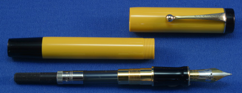 PARKER FLAT TOP MANDARIN DUOFOLD FOUNTAIN PEN