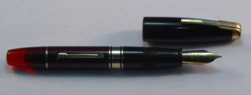 WATERMANs HUNDRED YEAR PEN - RED
