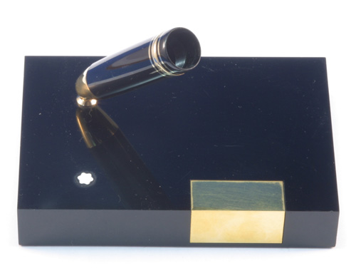 MONTBLANC 149 FOUNTAIN PEN DESK BASE and SOCKET