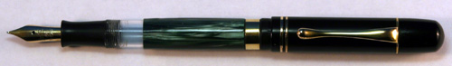 PELIKAN 100 W/ CLEAR BARREL - RESTORED