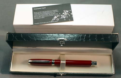 FRANKLIN-CHRISTOPH FOUNTAIN PEN - LIKE NEW