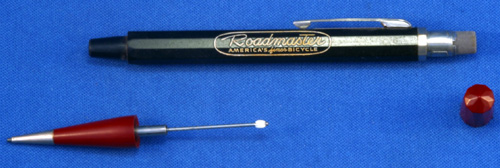 ROADMASTER - WORLD's finest BICYCLE ADVERTISING PENCIL