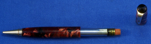 RED MARBLE PARKER CHALLENGER PENCIL