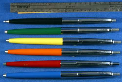 SHEAFFER CLICK RETRACTABLE BALLPOINTS