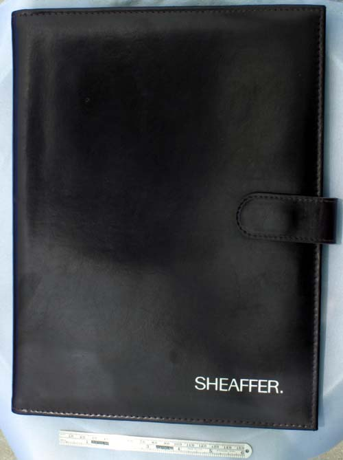 SHEAFFER 22 PEN LEATHER PORTFOLIO / CARRYING  / DISPLAY CASE