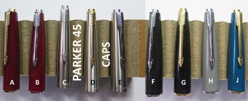 Parker 45 Black Fountain Pen Barrel