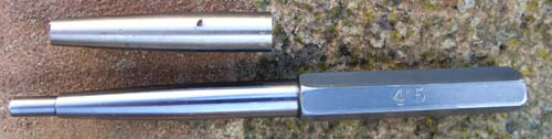 MANDREL FOR PARKER 45 CAP DENT REMOVAL