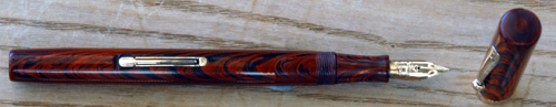 WATERMAN 52 IN RED RIPPLE