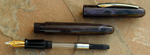 BEXLEY HARD RUBBER IMPERIAL COLLECTION FOUNTAIN PEN