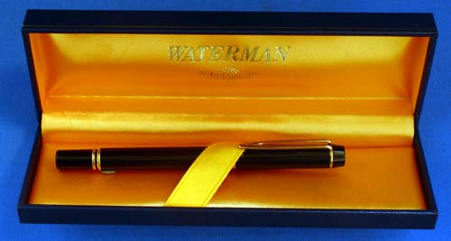WATERMANS MAN 200. New Old Stock With Flexible VERY BROAD NIB AND BOX