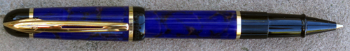 WATERMAN'S PHILEAS ROLLERRBALL IN BLUE/BROWN