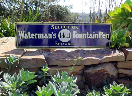WATERMANs SIGN