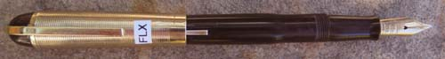 EVERSHARP SKYLINE MODEL 77 (STANDARD SIZE) FOUNTAIN PEN WITH WET NOODLE SUPER FLEXIBLE 14K NIB