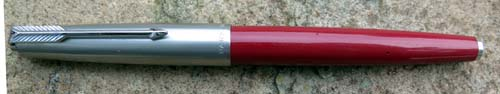 PARKER 61 IN RED W/ CAPILLARY FILLING SYSTEM