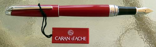 CARAN dE 'ACHE CHERRY RED MINT CONDITION