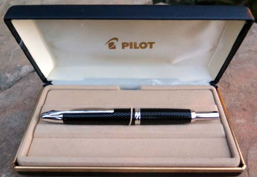 PILOT CAPLESS FOUNTAIN PEN WITH BROAD NIB