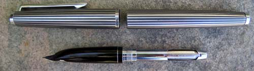 PILOT CUSTOM, BLACK STRIPED, VERY DESIRABLE PEN
