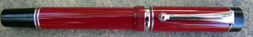 CAMPO MARZIO ROMA FOUNTAIN PEN. Cherry red.