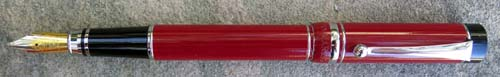 CAMPO MARZIO ROMA FOUNTAIN PEN. Cherry red