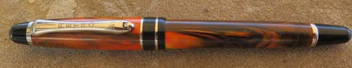RETRO 51 ROLLERBALL;  ORANGE/BLACK MARBLE