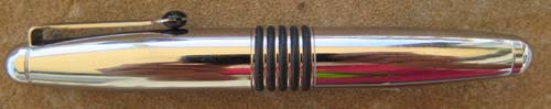 TOMBO CHROME STUBBY CIGAR PEN