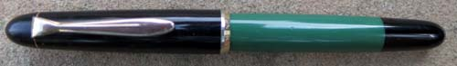 PELIKAN 120 IN GREEN AND BLACK