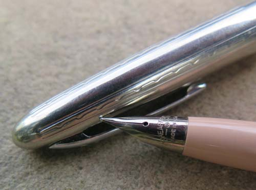 SHEAFFER CARTRIDGE PEN IN FLESH TONE