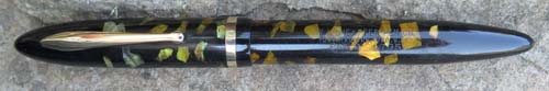 SHEAFFER BALANCE WITH INLAYED EBONIZED PEARL