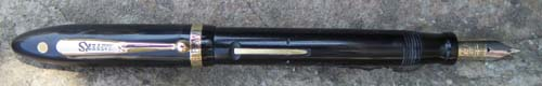 SHEAFFER BALANCE  FOUNTAIN PEN WITH TWO TONE BROAD/MEDIUM SERIALIZED NIB