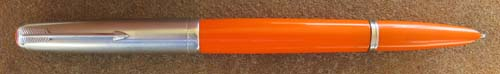 KULLOCK 51 AEROMETRIC IN 'BIG RED' ORANGE LUCITE