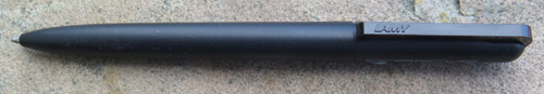 LAMY PORSCHE BALLPOINT. Twist actuated.