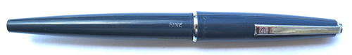EVERSHARP / PARKER BIG E FOUNTAIN PEN WITH BOTH pRKER AND EVERSHARP LOGOS ON THE CAP