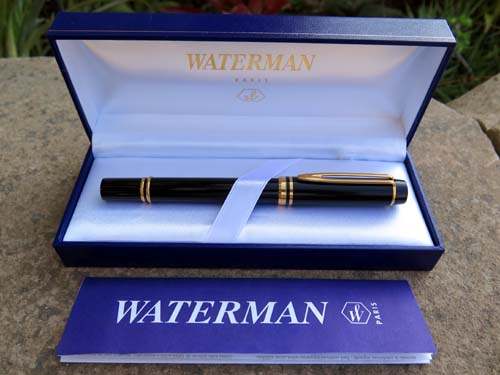 WATERMAN'S LE MAN 100 FOUNTAIN PEN, NOS