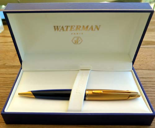 WATERMAN EDSON BALLPOINT IN BLUE