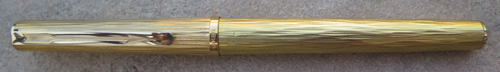 PARKER 75 GOLD PLATED TREE BARK PATTERN, SIMILAR TO THAT USED ON THE PARKER 105 LINE OF PENS
