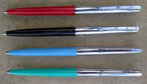 SHEAFFER STYLIST BALLPOINTS WITH ALLIGATOR CLIPS