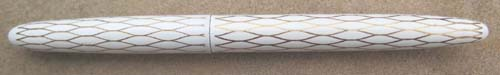Lady Sheaffer Skripsert X - Tulle White, Two Tone 14K FINE TRIUMPH NIB