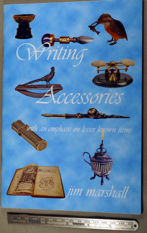 NEW BOOK:  WRITING ACCESSORIES by JIM MARSHALL